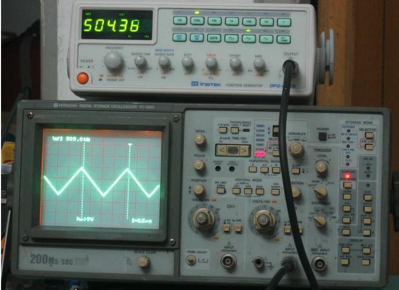 模拟/数字存储示波器